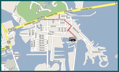 Directions to Hogfish docks